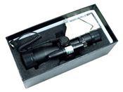 2.5-10x40 Dual Illuminated Mil-Dot Rifle Scope w/ Laser