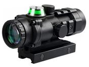 3x32 Fiber Optic Green Illuminated Prism Scope
