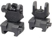 FMA Flip Up Front and Rear Sights