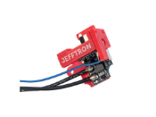 JeffTron MOSFET V2 with Active Brake V2 - Back Wired for Airsoft AEGs (Model: Wired to Front)