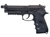 M9A1 CO2 Airsoft GBB Pistol w/Silencer