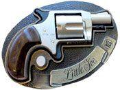 Little Joe Nickel Blank Gun with Belt Buckle