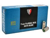 9mm PA Blank Ammo Box of 50
