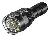 Nitecore TM9K 9500 Lumen USB-C Quick Charge LED Flashlight - Black