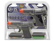 Colt .25 Spring Airsoft gun Clear Twin Pack