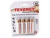 Tenergy 1.5V Alkaline AA Batteries - 4 Pack