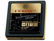 RWS R 10 Match Plus .177 Pellets (500ct)