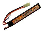 7.4V 1300mAh 15C LIPO AEG Mini Battery